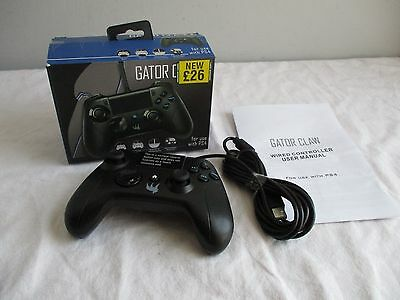 Gator Claw - Wired Sony Playstation 4 PS4 Controller - Boxed