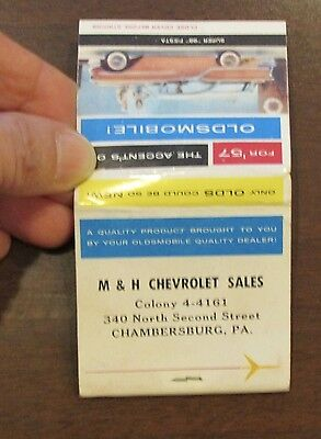 1957 Oldsmobile The Accent's On M&H Chevrolet SAles Chambersburg PA MAtches Full