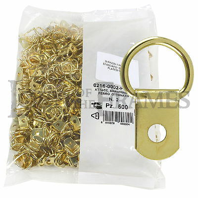 Picture Frame Hanging Kit 3.5m Wire 2 x Screw Rings /& 1 x Brass Hook PHA21