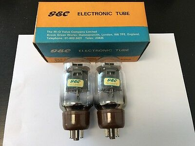 Kt66 Gec Nos Boxed Pair Valve/tube (Lc13)