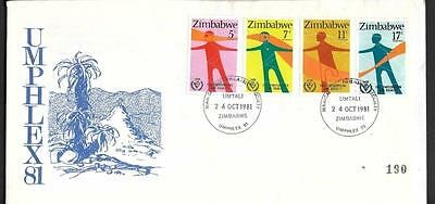 Zimbabwe, 1981 Umphlex 81, Illustrated Cover.