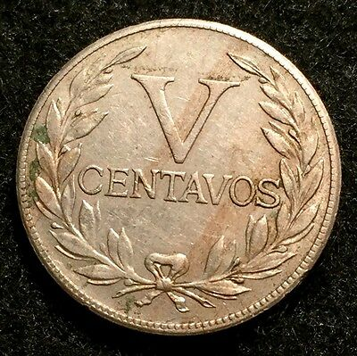 1946 Colombia 5 Centavos Lady Liberty Coin
