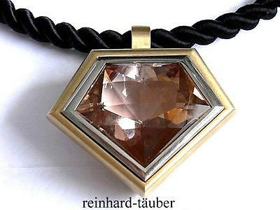 TRAUMHAFTES MORGANIT COLLIER   MORGANITE NECKLACE  750er / 18KT - MORG. 99,98ct