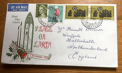 1966 Australia First Day Cover Christmas 1966