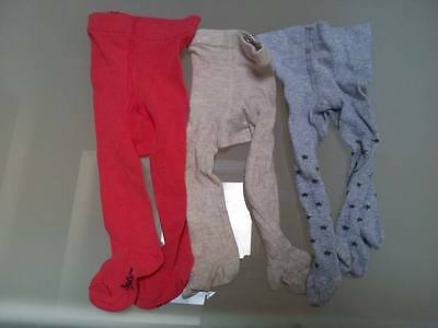 Lot de 3 paires de collants Bout'chou  du 15 au 18