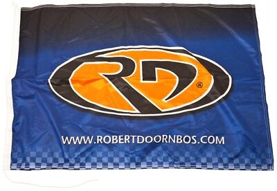 FLAG Flagge Formel IndyCar Series Formula One 1 F1 NEW! Robert Doornbos AT