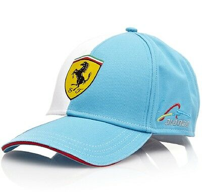 Cap X 15 Ferrari Job Lot Wholesale Formula One 1 Scuderia F1 Alonso NEW Blue CA