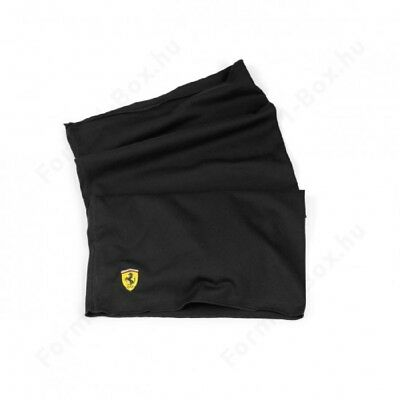 SCARF Neck Head 129-100 Ferrari Formula One F1 Multifunctional NEU Schwarz AT