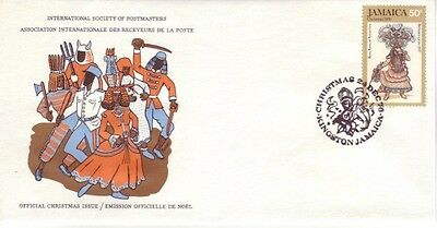 Jamaica - Christmas Issue (ISP FDC) 1976