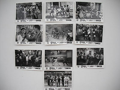 LADY IS THE BOSS shaw brothers 4x5 inch b&w photos 1982