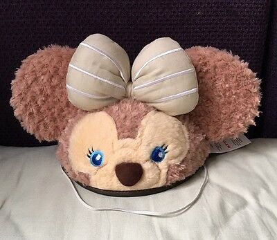 HKDL Hong Kong Disney LE Shelliemay Mickey Mouse Ear Hat Cap Adult (Duffy)