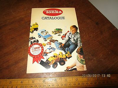 1970s colour Tonka catalogue in VGC - see other diecast catalogues offered