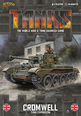 Tanks WWII Skirmish Game - Cromwell Expansion