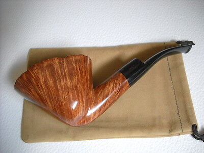 PIPE MARIO GRANDI BRIAR LARGE SMOOTH FIAMMATA WEIGHT.108gr.OVAL FREE  NEW PIPES