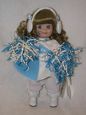 "Cute 11"" Reproduction Porcelain Googlie Doll By Patricia Loveless"