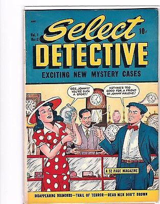 Select Detective   # 2  1948    Gangsters