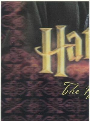 Harry Potter World Of Harry Potter 3D Series 1 Lenticular Chase Card PZ7