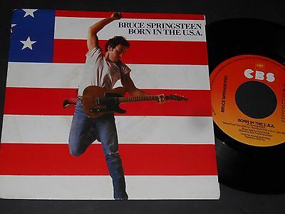 "Vinyl Single 7"" BRUCE SPRINGSTEEN Born In The USA"