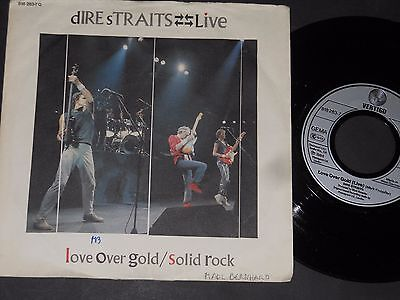 "Vinyl Single 7"" DIRE STRAITS Love Over Gold aus 1984"