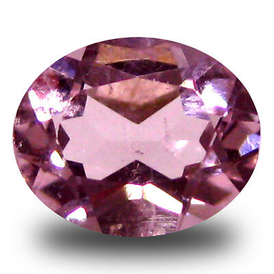0.42 ct Spectacular Oval Cut (6 x 5 mm) Pink Color Morganite Gemstone