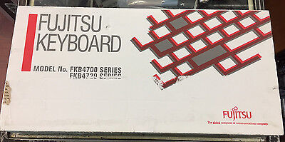 Fujitsu FKB4725 Vintage Mechanical Clicky Keyboard *New*