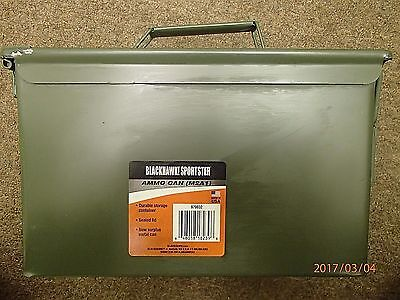 Blackhawk Sportster 50cal M2A1 Military Ammo Can Box Chest New Surplus