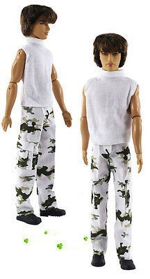 2016 new fashion clothes outfit for Barbie boyfriend ken doll party a177