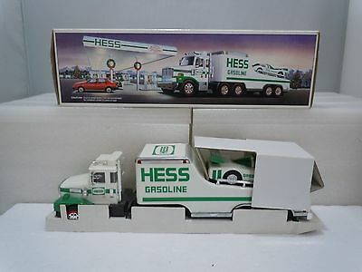 TOY TRUCK & RACER 1988 Family Vintage Complete w/ Original Box Tested Hess
