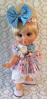 ~Sweet Bubblesuit Romper Set For Your Galoob Baby Face Doll~Grandma's Garden~