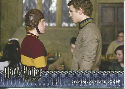 Harry Potter Half Blood Prince Promo Card #04