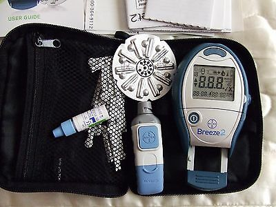 Breeze2 Blood Glucose Monitoring system.used good cond.