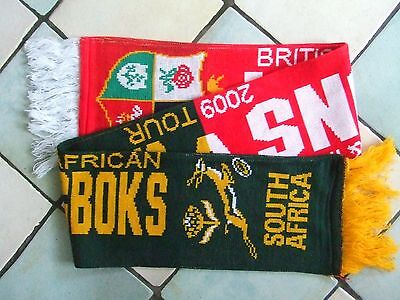 BRITISH LIONS v SOUTH AFRICA: 2009 LIONS TOUR TO SOUTH AFRICA: MATCHDAY SCARF!!!