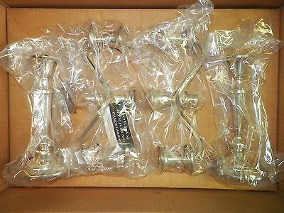 Gorham Sterling Silver .925 Pair of Weighted 3 Light Candelabras Puritan #808