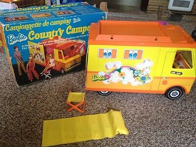 Vintage 1972 Barbie Country Camper with Original Box