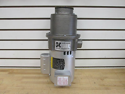 Master Disposers Series D Food Waste Disposal System; P/n: D34S-L ~New~Surplus~