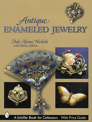 Antique Enameled Jewelry Collector Reference Victorian Art Crafts Deco Nouveau