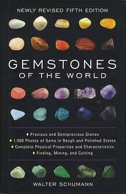 World Gemstones Collector Guide 5th Ed Locations Properties w Color ID Info