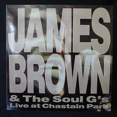 JAMES BROWN SOUL G's Live At Chastain Park CHARLY GROOVE Press 2LP NM