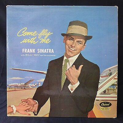 FRANK SINATRA Come Fly With Me CAPITOL UK Press LP LCT 6154