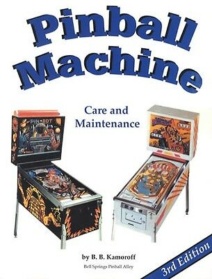 2015 Pinball Machine Care Maintenance How-To Guide 3rd Ed Set Up Adjust Settings