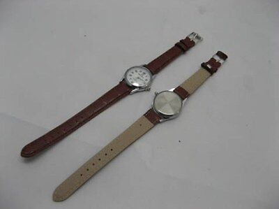 10 Women's Brown Leatherette Strap Wrist Watch wa-w136