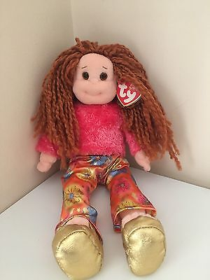TY Beanie Boppers Baby Babies Snazzy Sabrina Rag doll Disco Wedges 2001 Vintage