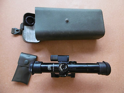 Zeiss Hensoldt Scope ZF 4 x 24 Model 2 included lighting unit german army