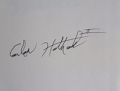 signed MARINE SNIPER BOOK CARLOS HATHCOCK AUTOGRAPH hardcover charles henderson