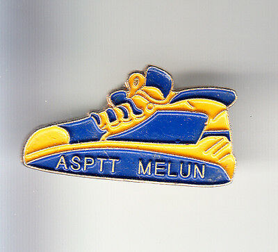 Rare Pins Pin's .. Ptt La Poste France Telecom Course Run Asptt Melun 77 ~Bj
