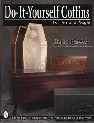 Do-It-Yourself Coffins Book Pets People Woodworking