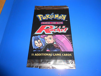 Pokemon Trading Card Game - Team Rocket - Empty Packet/wrapper