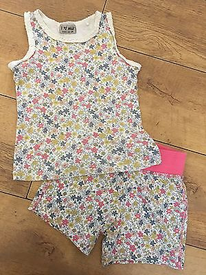 NEXT. Girls Summer Shorts & Top Outfit. Age 3-4yrs.