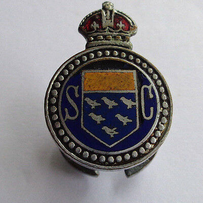 Special Constabulary Enamel Lapel Badge Home Front