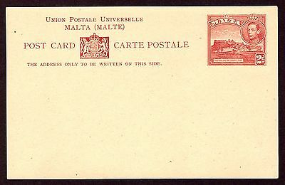 Malta Postal Stationery KGVI (9). Mint examples includes complete annexed cards.